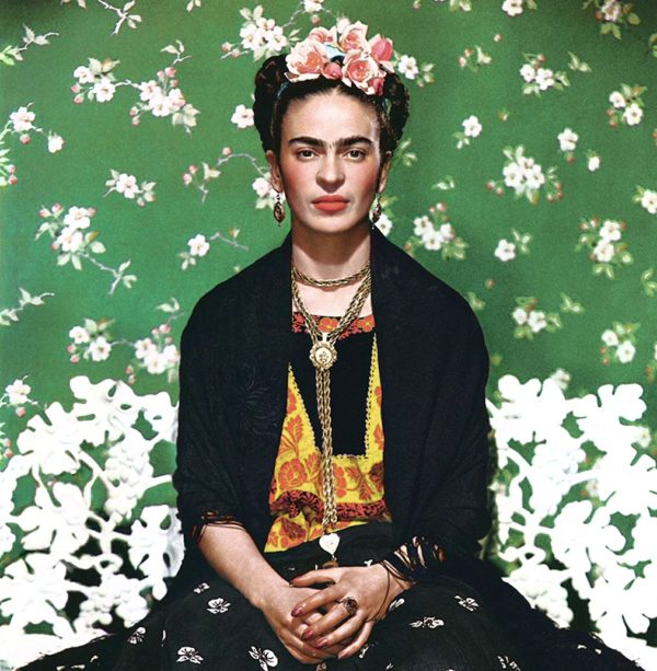 What colours did Frida Khalo use? Campo's Siddha Medico-colours!