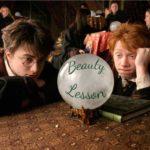 beauty lesson Bregaglio con Harry Potter