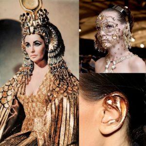 cleopatra ear makeup